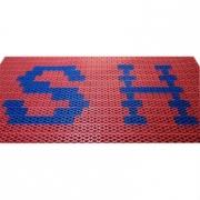 Модульное грязезащитное покрытие Scrub c рисунком (логотипом)