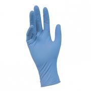 Перчатки нитриловые с текстурой на пальцах