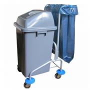 Тележка для сбора пищевых отходов и мусора