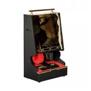 Вендинговый (платный) аппарат для чистки обуви с мультимонетным монетоприемником XDWC