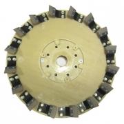 Диск для первичной обработки бетонного пола (43 см, 100 GRIT, вращение против часовой стрелки)