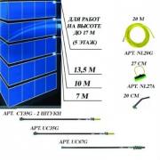 Комплект для мытья окон на высоте до 17 метров (5 этажей) nLite Advanced plus