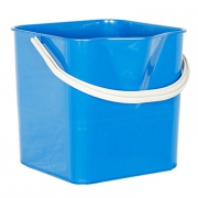 Ведро для мытья пола синее