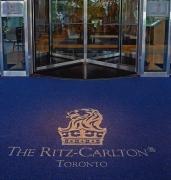 Изготовление входных ковров с логотипом из материала SuperNop