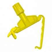 Зажим-держатель для веревочных МОПов желтый