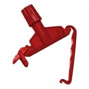 Зажим-держатель для веревочных МОПов красный