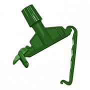 Зажим-держатель для веревочных МОПов зелёный