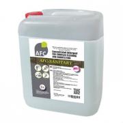 Щелочное гелеобразное средство для уборки санитарных комнат и бассейнов AFC-SANITARY