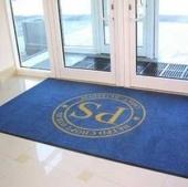 Ворсовые ковры с печатным логотипами