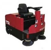 Аккумуляторная подметально - вакуумная машина с сиденьем для оператора TR